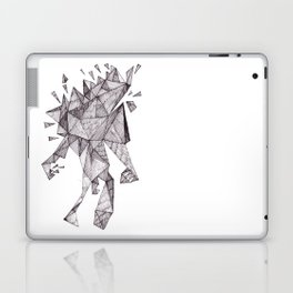 Robot trapped in triangles Laptop & iPad Skin