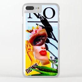 Oh!No! Clear iPhone Case