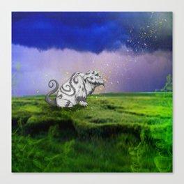 I Believe In Gruff Canvas Print