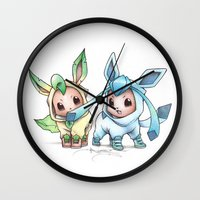 projectrocket Wall Clocks featuring Brotherly Love by Randy C