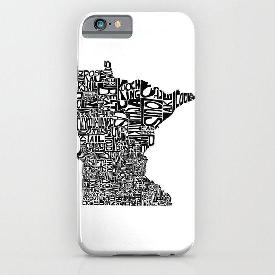 Typographic Minnesota iPhone & iPod Case