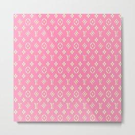 SupLV Pink Metal Print