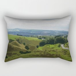 Rochdale View from Iron Waters2 Rectangular Pillow