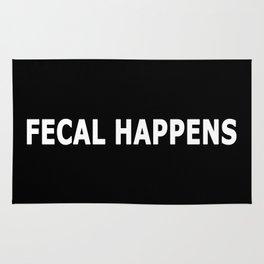 Fecal Happens Rug