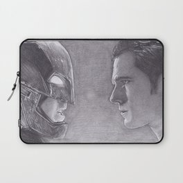 DC Comics Bat man v Superman Laptop Sleeve