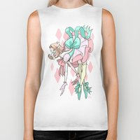 magical girl Biker Tanks featuring Magical Girl Pearl by IdentityPollution