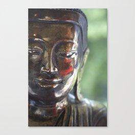 Buddha with a blush Canvas Print