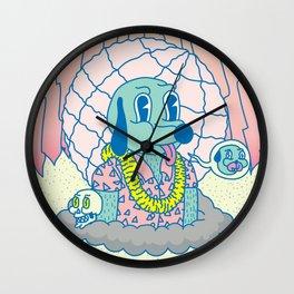 LAST TURI TURI Wall Clock