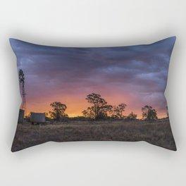 Storms on the Horizon Rectangular Pillow