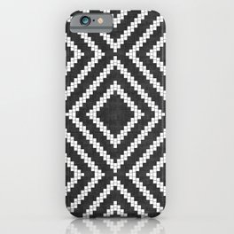 Loom in Black and White iPhone Case
