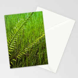 Lush and Lavish Blades of Glorious Green Grass Stationery Cards