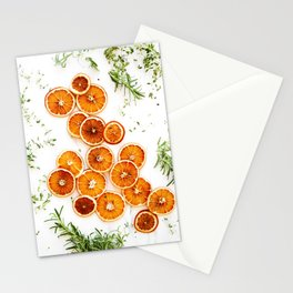 Pure Citrus (Color) Stationery Cards