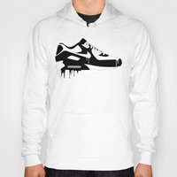 nike Hoodies featuring Nike Air Max 90' by GRIB'