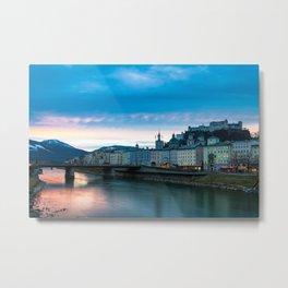 Salzburg Sunrise Metal Print