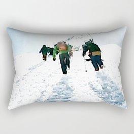 Going up Rectangular Pillow
