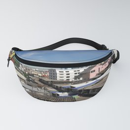 Communities in the capital of Thailand. Fanny Pack