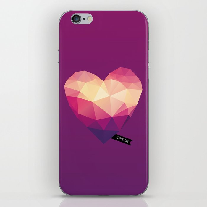 Vector Love 01 iPhone Skin
