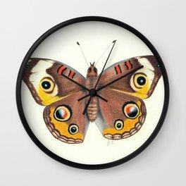 Common Buckeye Wall Clock