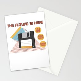 The future is here Stationery Cards