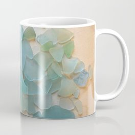 Ocean Hue Sea Glass Coffee Mug