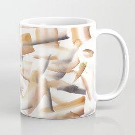 180719 Koh-I-Noor Watercolour Abstract 23| Watercolor Brush Strokes Coffee Mug