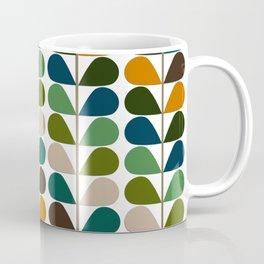 Mid Century Modern Fern Pattern Coffee Mug