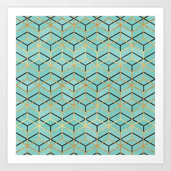 Pretty Geometry 2 Art Print