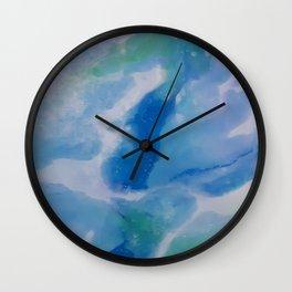 Mediterranean Splash Wall Clock