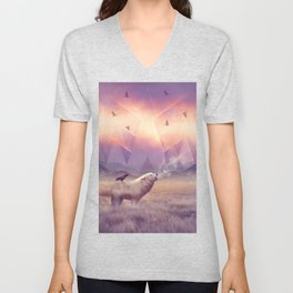In Search of Solace Unisex V-Neck