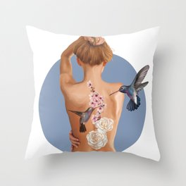 Wild Beauty Throw Pillow