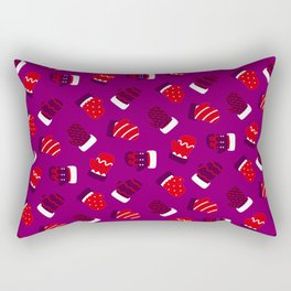 Christmas Mittens! Rectangular Pillow