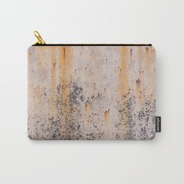 Abstract textures in old metal Carry-All Pouch