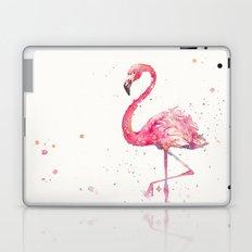 A Flamingos Fancy Laptop & iPad Skin