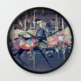 Black Stallion! Wall Clock