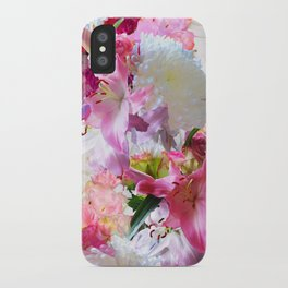 Lush Lilies iPhone Case