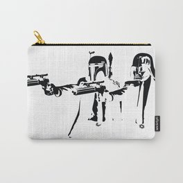 """Darth Vader - Say """"What"""" Again! Version 1 BW Inverted Carry-All Pouch"""