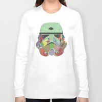 trooper Long Sleeve T-shirts featuring Gore Trooper  by Josh Ln