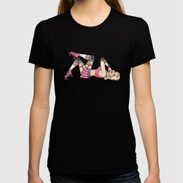 Gorgeous Roller Derby Pinup Girl T-shirt