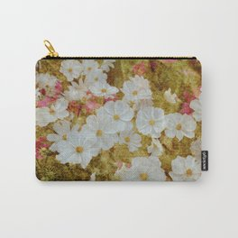 Flowerbed  Carry-All Pouch
