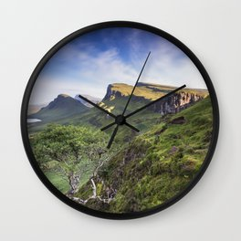 Mesmerized By the Quiraing III Wall Clock