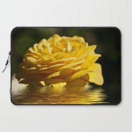 Yellow Rose Flood Laptop Sleeve