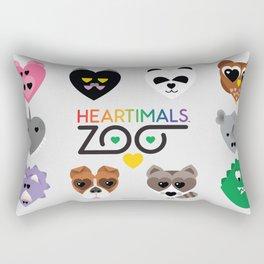 HEARTIMALS™ ZOO Rectangular Pillow