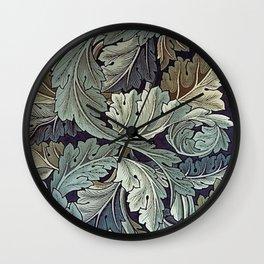 Acanthus William Morris Wall Clock