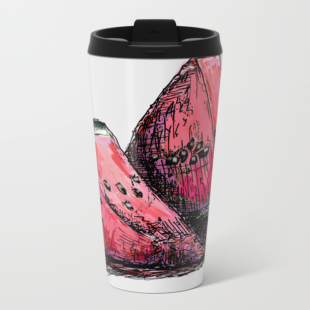 Red Watermelon Travel Cup TRM8371965