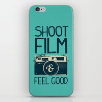 film iPhone & iPod Skins featuring Shoot Film by Victor Vercesi