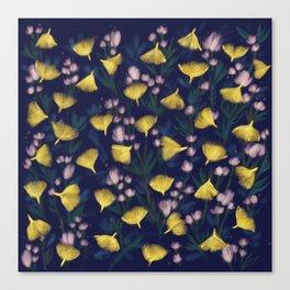 Ginkgo Blossoms Canvas Print