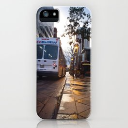 Bus on 16th Street iPhone Case