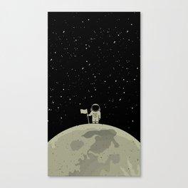 Moon Walk Canvas Print