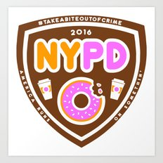 NYPDD Art Print