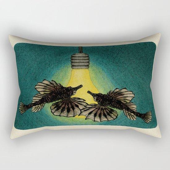 Sea Moths Rectangular Pillow